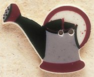 43030 - Grey Watering Can - 1 1/4in x 1in